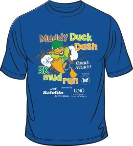 MuddyDuckDash2015 shirt